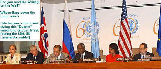 666 sign at UN. 6-6-6. See bible-code site for more, and bible prophecy forum.